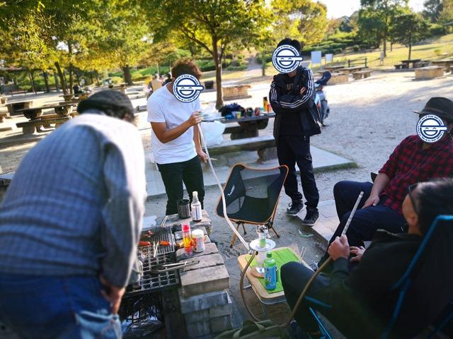 IMG 20181030 151137.00jpg thumb - 【イベント】One Case秋の海鮮BBQバーベキュー祭り。VAPEとシーシャとキックボードでエンジョイ!!【ワンケース/アウトドア】