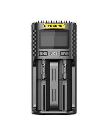 Nitecore UMS2 Dual Slots Superb Battery Charger 750x930 thumb - 【レビュー】Nitecore UM2/UMS2/UM4/UMS4バッテリーチャージャー(充電器)レビュー。最大3A急速充電対応ナイトコアの普及価格帯コスパ充電器。リチウムマンガンバッテリー最強