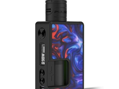 authentic vandy vape pulse x 90w tc vw squonk box mod pulse x bf rda kit fantastic blue 590w 1 x 18650 20700 21700 thumb 400x300 - 【海外】「Eleaf iStick Nowos 80W 4400mAh Box Mod + ELLO Duro Tank Kit」「iOOi I007 117W TC VW Variable Wattage Box Mod」「VapeCige VTBOX250C」