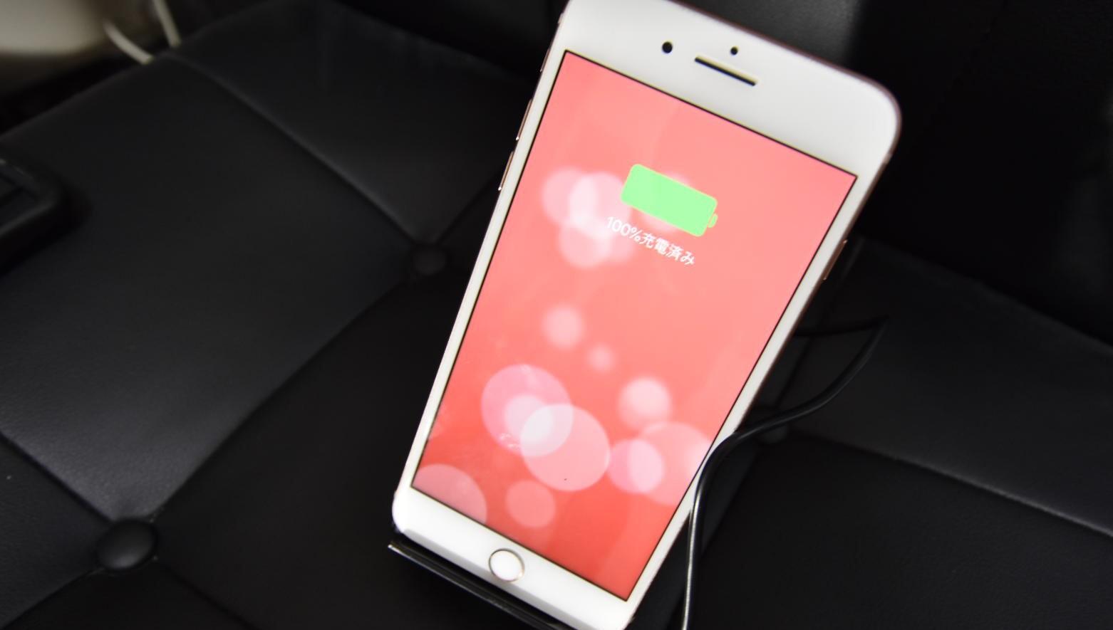 20181125 043202360 iOS - 【レビュー】iPhone/Galaxy!防水スマホを長持ちさせる!CHOETECH Qi急速ワイヤレス充電器を実際に使ってみた