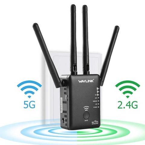 617njsApkLL. SL1000 thumb - 【レビュー】「Wavlink 11ac/n/a/g/b無線LAN中継器」予想以上に使える激安Wi-Fiエクステンダー!有線LANポート2つで802.11 ac/b/g/n/aに対応して最大1200Mbps。家中に無線LANを飛ばそう【iPhone X/XS/XR/XS MaX対応】