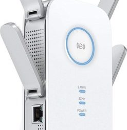 61Nm14ISpHL. SL1500 thumb 247x254 - 【レビュー】 TP-Link RE650 802.11 ac/n/a/g/b 1733+800Mbpsビームフォーミング/MU-MIMO対応無線LAN中継器レビュー。有線LANも延長できる最強クラスのワイヤレスエクステンダー!
