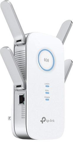 61Nm14ISpHL. SL1500 thumb - 【レビュー】 TP-Link RE650 802.11 ac/n/a/g/b 1733+800Mbpsビームフォーミング/MU-MIMO対応無線LAN中継器レビュー。有線LANも延長できる最強クラスのワイヤレスエクステンダー!