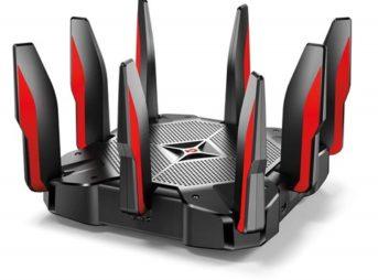 61yIWfflSL. SL1000 thumb 343x254 - 【レビュー】「TP-Link Archer C5400Xゲーミング 無線LAN ルーター トライバンド MU-MIMO 2167 + 2167 + 1000 Mbps 3年保証 」超最強無線ルーターで快適Wi-Fi生活!