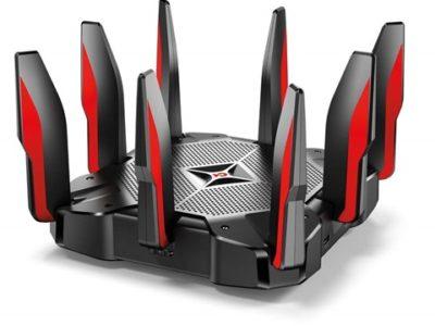 61yIWfflSL. SL1000 thumb 400x300 - 【レビュー】「TP-Link Archer C5400Xゲーミング 無線LAN ルーター トライバンド MU-MIMO 2167 + 2167 + 1000 Mbps 3年保証 」超最強無線ルーターで快適Wi-Fi生活!