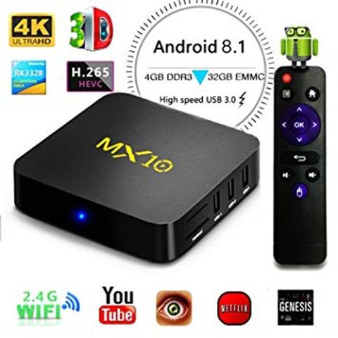 71lfkVOmgXL. SY355 thumb - 【レビュー】MX10 Android TV BOXレビュー。アンドロイドセットトップボックスはスマートTVの夢を見るか?