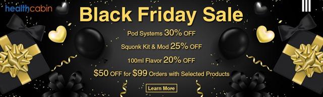 Black Friday Sale 2018 thumb - 【セール】ブラックフライデー&サイバーマンデーセールまとめ2018!!FastTech,GearBestほかVAPEやガジェットの超得セール。Amazonサイバーマンデー、楽天ブラックフライデーもお得【随時更新】