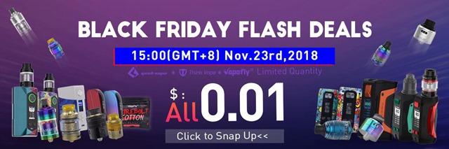 Black Friday thumb - 【セール】ブラックフライデー&サイバーマンデーセールまとめ2018!!FastTech,GearBestほかVAPEやガジェットの超得セール。Amazonサイバーマンデー、楽天ブラックフライデーもお得【随時更新】