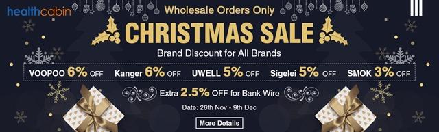 CHRISTMAS SALE WHOLESALE - 【セール】ブラックフライデー&サイバーマンデーセールまとめ2018!!FastTech,GearBestほかVAPEやガジェットの超得セール。Amazonサイバーマンデー、楽天ブラックフライデーもお得【随時更新】
