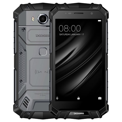 DOOGEE S60 5 2 Inch 6GB 64GB Smartphone Black 788077 thumb - 【海外】「IJOY Shogun Univ 180W TC VW Variable Wattage Box Mod + Katana Tank Kit」「Artery PAL One Pro 1200mAh All in One Starter Kit」「Paradigm Modz Magma Tank RDTA」