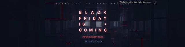 GearBest thumb - 【セール】ブラックフライデー&サイバーマンデーセールまとめ2018!!FastTech,GearBestほかVAPEやガジェットの超得セール。Amazonサイバーマンデー、楽天ブラックフライデーもお得【随時更新】