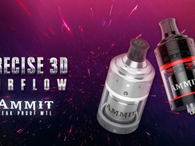 Geekvape Ammit MTL 400x300 - 【レビュー】GEEKVAPE AMMIT MTL RTA ドローの重さが自由自在なMTL派向けアトマイザー!【VAPE/爆煙/フレーバーチェイス】