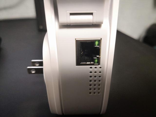 IMG 20181117 192459 thumb - 【レビュー】 TP-Link RE650 802.11 ac/n/a/g/b 1733+800Mbpsビームフォーミング/MU-MIMO対応無線LAN中継器レビュー。有線LANも延長できる最強クラスのワイヤレスエクステンダー!