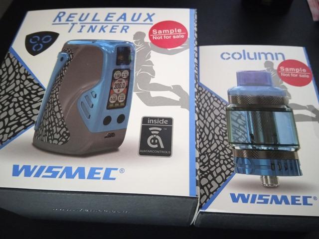 IMG 20181122 110006 thumb - 【レビュー】Wismec Reuleaux Tinker with COLUMNスターターキットレビュー。カラフルなデザイン&300W出力のパワフルなMODとタンク。