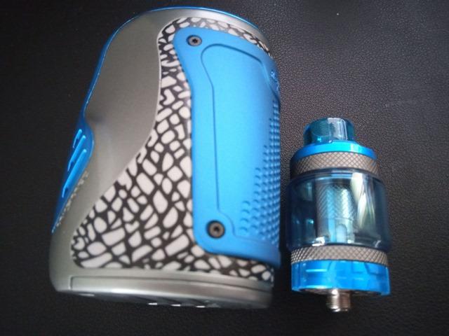 IMG 20181122 110148 thumb - 【レビュー】Wismec Reuleaux Tinker with COLUMNスターターキットレビュー。カラフルなデザイン&300W出力のパワフルなMODとタンク。