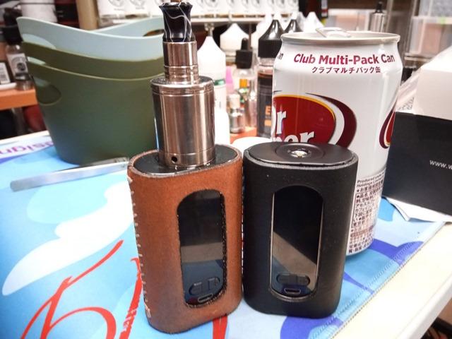 IMG 20181125 150529 thumb - 【訪問日記】ある昼下がりOne CaseさんでEleaf Invokeがオーダーメイドレザーで超パワーアップ。不思議タバコとシーシャを発見!