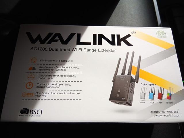 IMG 20181126 114447 thumb - 【レビュー】「Wavlink 11ac/n/a/g/b無線LAN中継器」予想以上に使える激安Wi-Fiエクステンダー!有線LANポート2つで802.11 ac/b/g/n/aに対応して最大1200Mbps。家中に無線LANを飛ばそう【iPhone X/XS/XR/XS MaX対応】