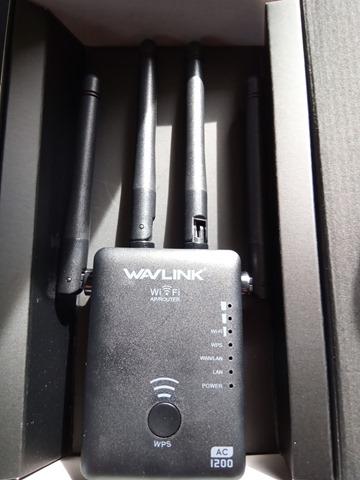 IMG 20181126 114534 thumb 1 - 【レビュー】「Wavlink 11ac/n/a/g/b無線LAN中継器」予想以上に使える激安Wi-Fiエクステンダー!有線LANポート2つで802.11 ac/b/g/n/aに対応して最大1200Mbps。家中に無線LANを飛ばそう【iPhone X/XS/XR/XS MaX対応】