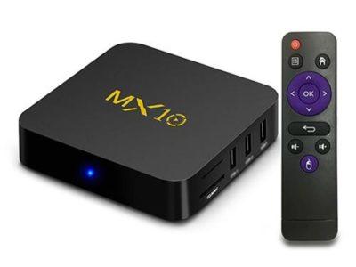 MX10 Android 7 1 2 RK3328 4GB 32GB TV Box 469912 thumb 400x300 - 【レビュー】MX10 Android TV BOXレビュー。アンドロイドセットトップボックスはスマートTVの夢を見るか?