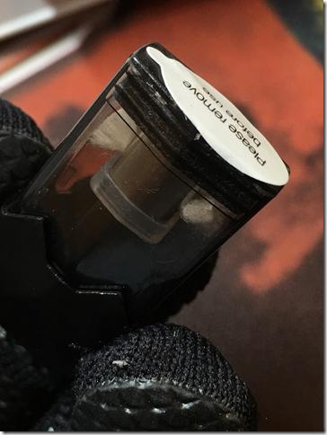 Photo 11 thumb 2 - 【レビュー】Esay VAPE RAINBOW(イージー ベイプ レインボー)オリジナルスターターキットレビュー~王道POD型VAPEからプルームテック対応機種登場(ΦдΦ)!?編~