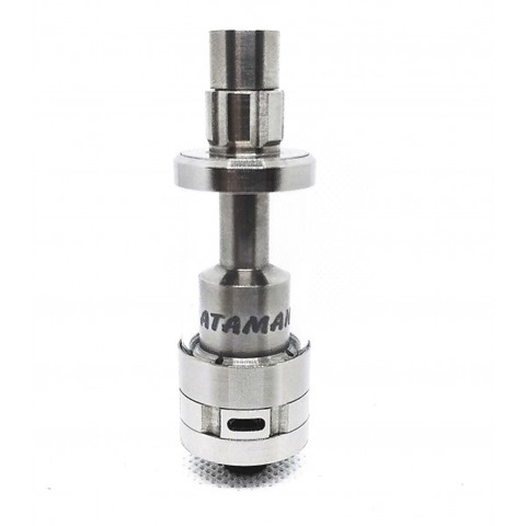 ataman3 full titanium thumb - 【レビュー】TITANIUM MODS ATAMAN IV RTA(チタニウムモッズ・アタマン4RTA)レビュー。チタン製最強軽量MTLアトマイザーの後継作はやっぱりシルキー最強アトマだった件【究極RTAの完成形その2】