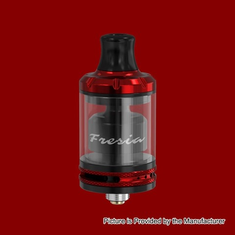 authentic damn vape fresia rta rebuildable tank atomizer black red stainless steel 35ml 22mm diameter thumb - 【海外】「Geekvape Aegis Mini Kit Christmas Version 2200mah」「Geekvape Aegis Legend Kit Christmas Version」「Asmodus Bunker BF RDA」「ASMODUS Amighty 100W Box Mod」「Damn Vape Fresia RTA」