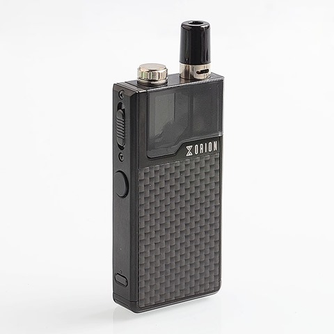 authentic lost vape orion dna go 40w 950mah all in one starter kit black textured carbon fiber 2ml 025 ohm 05 ohm thumb - 【新製品】「Vapefly Firebolt Cotton Mixed Edition」「COV Trident 80W Kit」「Shanlaan Laan Pod System Starter Kit 40W」「Lost Vape Orion DNA GO 40W 950mAh All-in-one Starter Kit」ほか
