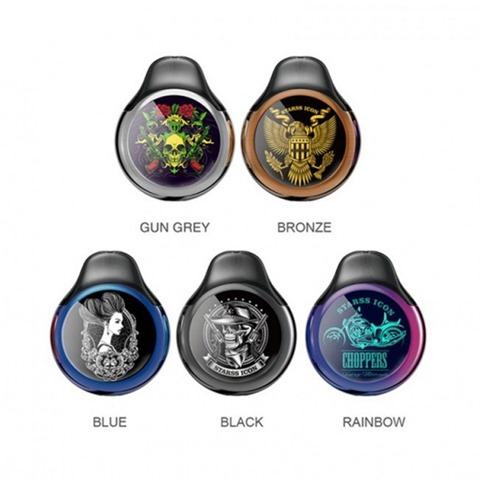 starss icon pod system kit thumb - 【海外】「Desire CUT220 220W TC VW Box Mod + Bulldog Sub Ohm Tank Kit」「VapeMons Gearbox 222W Wireless Charging」「Demon Killer Muscle Cotton Ⅱ」