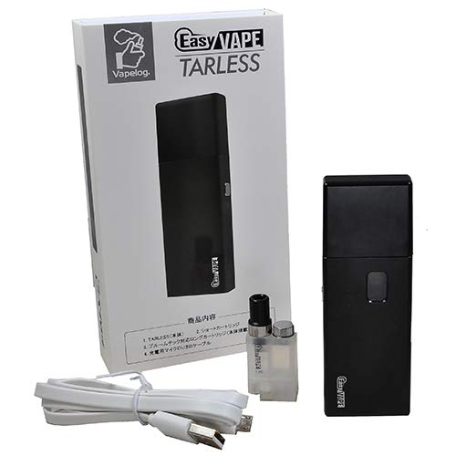 415q 0t65L - 【レビュー】EasyVAPE TARLESS(イージーベイプ ターレス)フルスターターキット、Amazon限定発売決定!!カンタンおいしいVAPEを楽しめちゃいます。