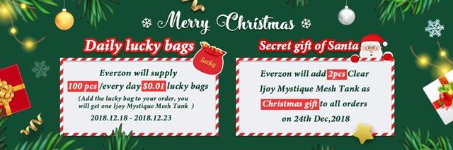 Christmas Gift thumb - 【セール】2018年VAPE/ガジェットXMAS(クリスマス)セール情報まとめ!!年末の大型割引セールをまとめてみたよ。