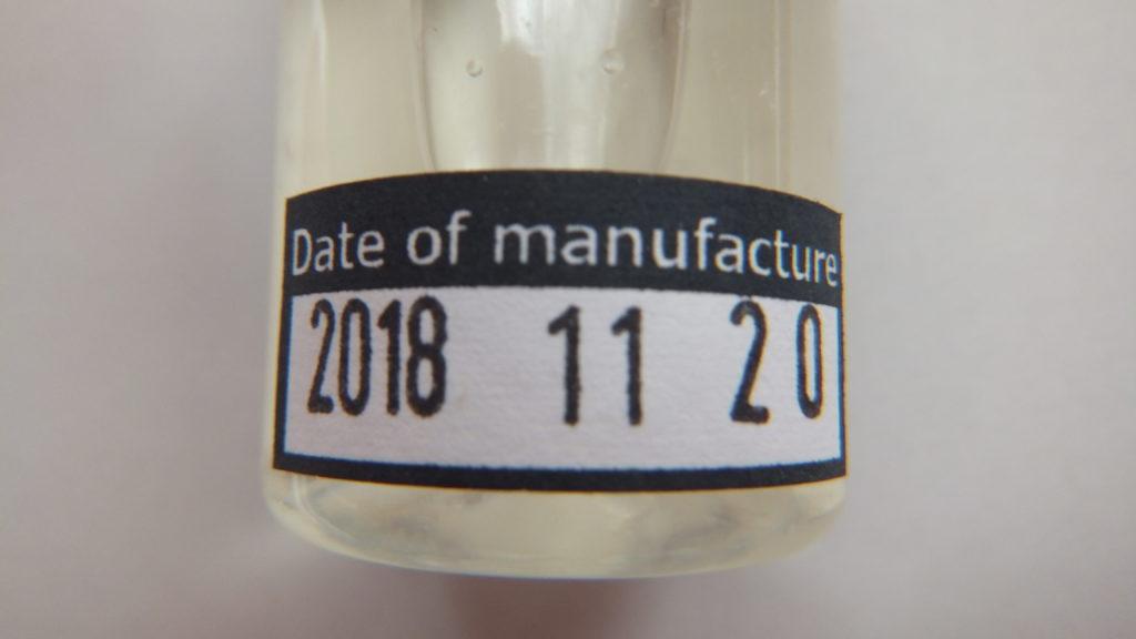 DSCF1392 1024x576 - 【リキッドレビュー】Nameless Element(ネームレスエレメント) Silver Label Creature(クリーチャー)を吸ってみた! ジョーズっぽいプリントで威嚇してますが、味はどうかな!?