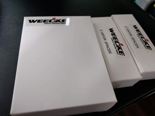 IMAG0020 thumb - 【レビュー】WEECKE C-VAPOR3.0 スペーサー専用ケース 2.0+にも使用可能 ヴェポライザー ヒーティングチューブスペーサー。スペーサーでチェーン喫煙にも便利!