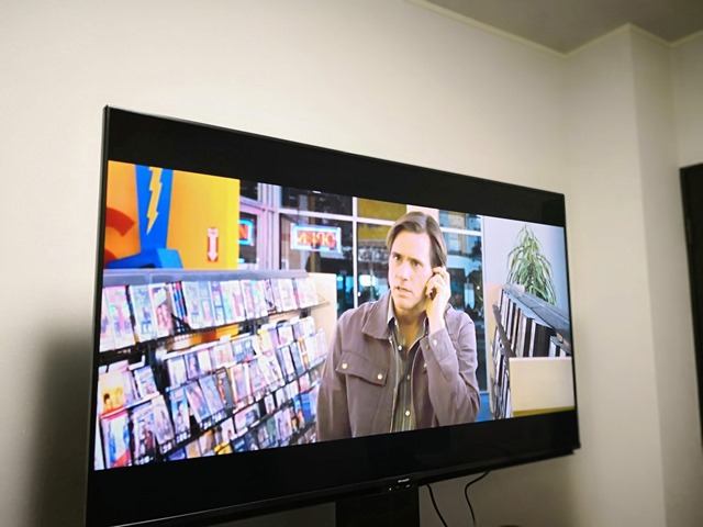 IMG 20181116 235618 thumb - 【レビュー】SHARP AQUOS 4T-C60AM1 60インチ4Kテレビで快適TV生活。Android TVでYoutubeもニコニコ動画もTwitchもサクサク。+壁寄せTVスタンドでスマートに。