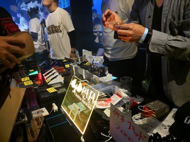 IMG 20181202 124457 thumb - 【イベント】大阪VAPE PARTY冬の陣2018(OSAKA VAPE PARTY 2018)行ってきたよ。ポールダンスショー、VAPE EXPO JAPAN 2019トリック魔術師予選大会、クラウドチェイス大会、BINGOで大盛り上がりのビッグイベント!!