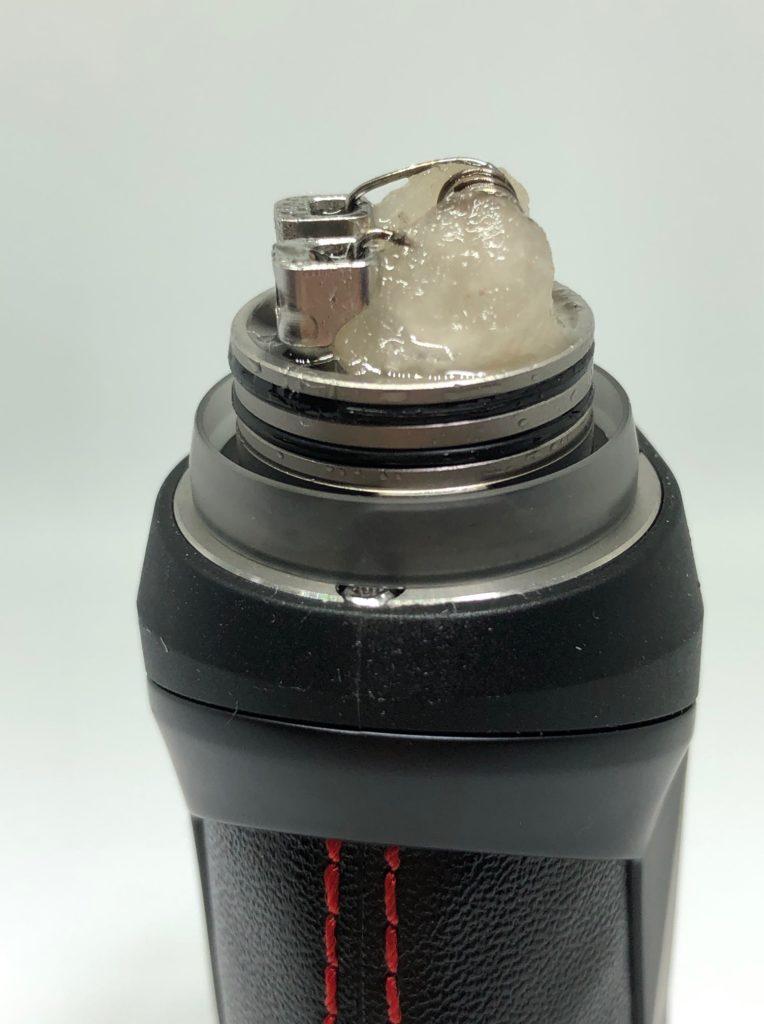 IMG 6587 764x1024 - 【レビュー】Geep vape AEGIS MINI RDA KIT、こんなMODがあったの!?今更だけど早く教えてよ!!バッテリー内蔵、耐衝撃、防水防塵!!味も良くっておまけにコンパクトなギークベイプのVAPE完成形スターターキット!!