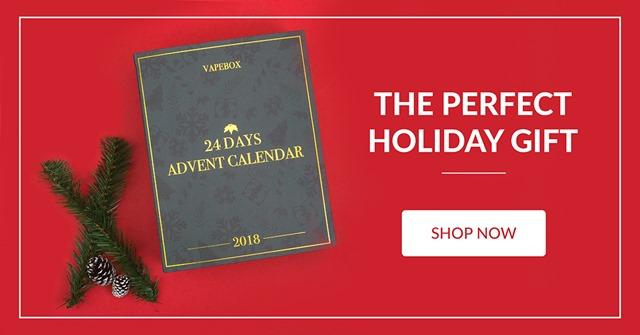 advent calendar the perfect gift thumb - 【セール】2018年VAPE/ガジェットXMAS(クリスマス)セール情報まとめ!!年末の大型割引セールをまとめてみたよ。