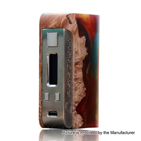 authentic arctic dolphin orion 250w tc vw variable wattage box mod random color resin stabilized wood 5250w 2 x 18650 thumb - 【海外】「Vapor Storm Puma Baby 80W TC VW APV Box Mod Kit」「Lcovape 98K RDA」「GPD Win 2」