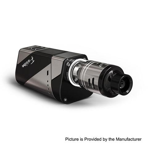 authentic ehpro 2 in 1 fusion 150w tc vw mod fusion rdta kit gun metal black 0150w 2 x 18650 2ml x 2 thumb - 【海外】「Acevape Magic Master RDA」「Acevape Bomb Cat RDA」「Artery Pal 2 1000mAh Pod System Starter Kit」