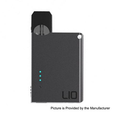 authentic lio device 400mah pod system starter kit black 07ml 16 ohm thumb - 【海外】「VGOD CLIC Battery 350mah」「Ehpro Iguana RDA」「OFRF Gear RTA」「COV&Hangsen Capsule Disposable Pod Kit」「Smoant Karat 370mAh Pod System Starter Kit」