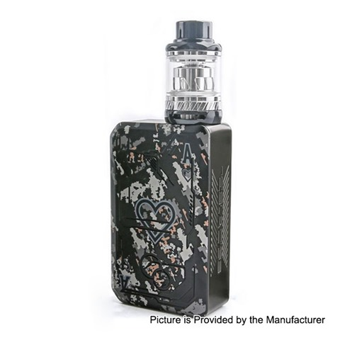 authentic tesla teslacigs poker 218w tc vw box mod tallica mini tank kit black 7218w 2 x 18650 018 ohm 6ml thumb 1 - 【海外】「Tesla Teslacigs Poker 218W TC VW Box Mod + Tallica Mini Tank Kit」「Tesla Teslacigs Punk 86W VW Variable Wattage Tube Mod」「Damn Vape Fresia RTA 22mm」