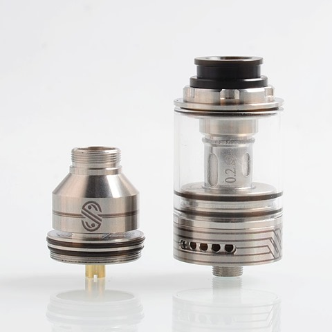 authentic ultimavape scarlet rta rebuildable tank atomizer sub ohm tank clearomizer silver 02 ohm 25ml 24mm diameter thumb - 【海外】「Eleaf iStick Pico X 75W TC VW APV Box Mod」「Thunderhead Creations Tauren Mechanical Mod」「Vaporesso Sky Solo 1500mAh Starter Kit」