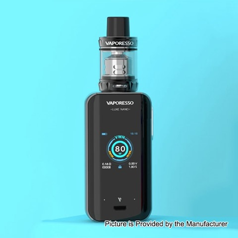 authentic vaporesso luxe nano 80w 2500mah tc vw box mod skrr s mini tank kit black 580w 015 ohm 35ml thumb - 【海外】「Eleaf iStick Pico X 75W TC VW APV Box Mod」「Thunderhead Creations Tauren Mechanical Mod」「Vaporesso Sky Solo 1500mAh Starter Kit」