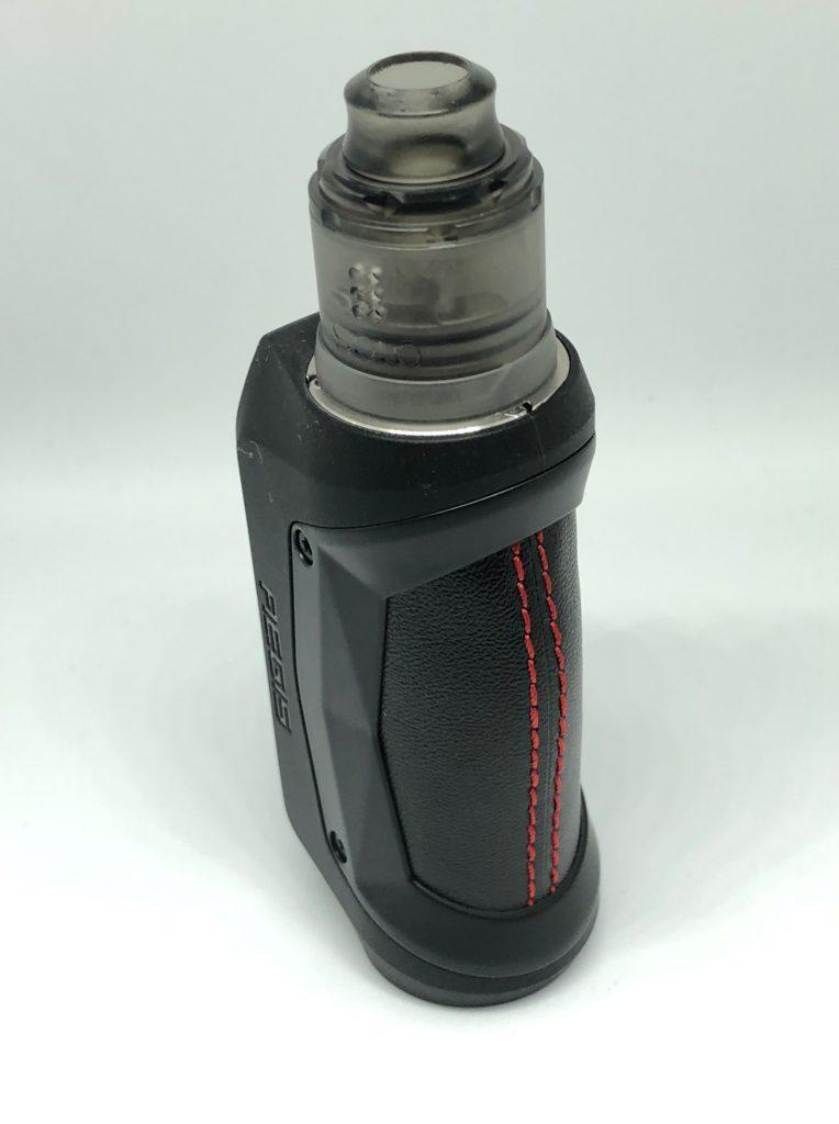 image2 764x1024 - 【レビュー】Geep vape AEGIS MINI RDA KIT、こんなMODがあったの!?今更だけど早く教えてよ!!バッテリー内蔵、耐衝撃、防水防塵!!味も良くっておまけにコンパクトなギークベイプのVAPE完成形スターターキット!!
