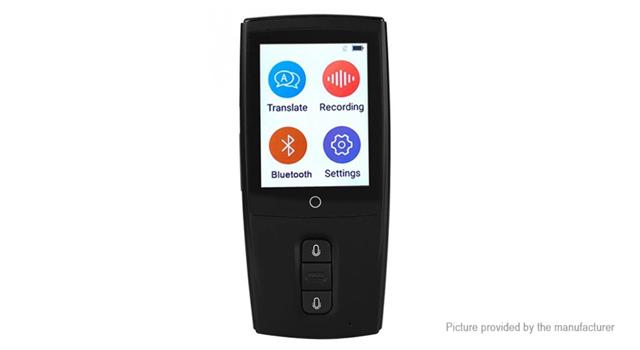 "translator1 thumb - 【海外】「Pavinno Puro Bluetooth APP Control All In One Pod System Kit 1450mAh」「CK-T01 Bluetooth V3.0 Two-Way Voice Intelligent Synchronization Translator」「Vivo Nex 6.39 Inch 4G LTE Smartphone Snapdragon 845」「Xiaomi Mi Notebook Air 13.3""」"