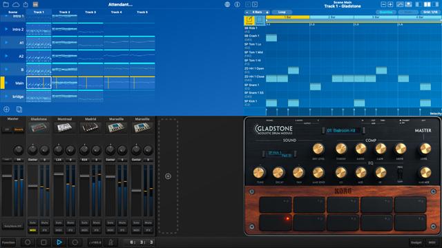 2019 01 06 2.01.32 thumb - 【レビュー】Korg Gadget for iOS/Mac(コルグガジェット)を使ってみた!最高のモバイル楽器コレクション、誰でもカンタン作曲!音楽制作が身近になるサウンド作成ソフトレビュー。