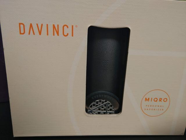 IMAG0424 thumb - 【レビュー】Davinci MIQRO(ダビンチマイクロ)ヴェポライザーレビュー!33%小型化された18350バッテリー対応ポータブルなヴェポライザー。【Explorerコレクション】