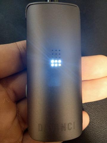 IMAG0443 thumb - 【レビュー】Davinci MIQRO(ダビンチマイクロ)ヴェポライザーレビュー!33%小型化された18350バッテリー対応ポータブルなヴェポライザー。【Explorerコレクション】