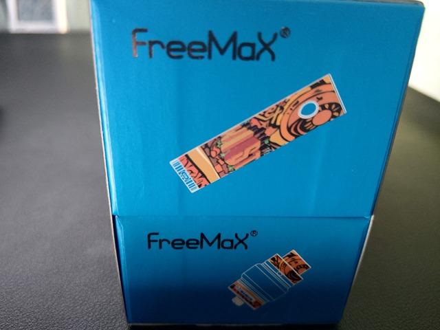 IMAG0450 thumb - 【レビュー】カラフルでサイケだから超目立つ。FreeMax Twister 80Wスターターキットレビュー。ツイストスイッチで簡単VW切り替え。