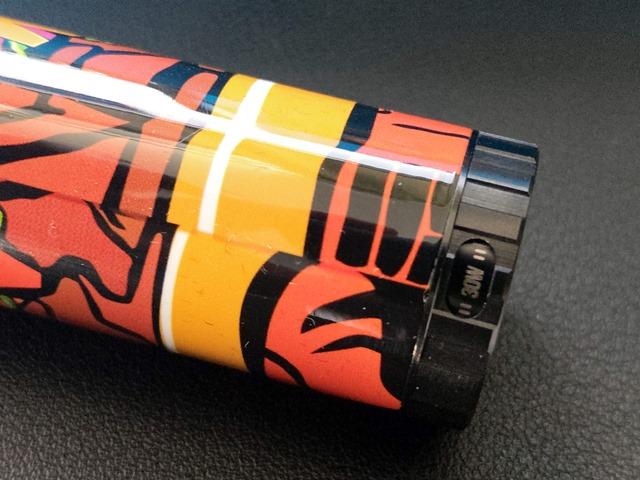 IMAG0455 thumb - 【レビュー】カラフルでサイケだから超目立つ。FreeMax Twister 80Wスターターキットレビュー。ツイストスイッチで簡単VW切り替え。
