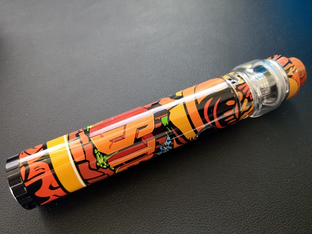 IMAG0456 thumb - 【レビュー】カラフルでサイケだから超目立つ。FreeMax Twister 80Wスターターキットレビュー。ツイストスイッチで簡単VW切り替え。